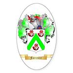 Forrester Sticker (Oval 10 pk)