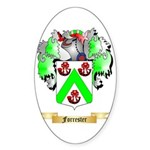 Forrester Sticker (Oval 50 pk)