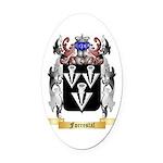 Forrestal Oval Car Magnet