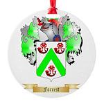 Forrest Round Ornament
