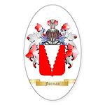Forman Sticker (Oval 10 pk)