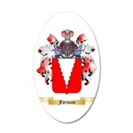 Forman 20x12 Oval Wall Decal