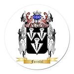 Foristal Round Car Magnet