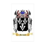 Foristal Sticker (Rectangle 50 pk)