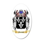 Foristal 20x12 Oval Wall Decal
