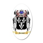 Foristal 35x21 Oval Wall Decal