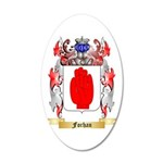 Forhan 20x12 Oval Wall Decal