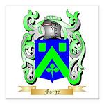 Forge Square Car Magnet 3