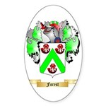 Forest Sticker (Oval 50 pk)
