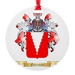Foreman Round Ornament