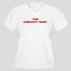 Team COMPLEXITY THEORY Women's Plus Size V-Neck T-