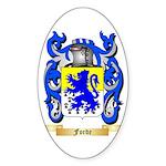 Forde Sticker (Oval 10 pk)