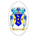 Forde (Ireland) Sticker (Oval)