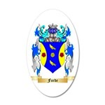 Forde (Ireland) 20x12 Oval Wall Decal