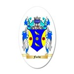 Forde (Ireland) 35x21 Oval Wall Decal