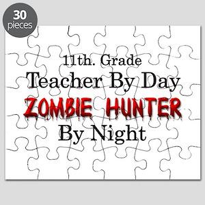 11th. Grade Teacher/Zombie Hunter Puzzle