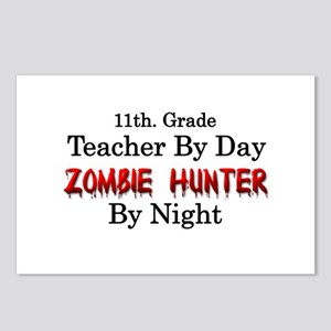 11th. Grade Teacher/Zombi Postcards (Package of 8)