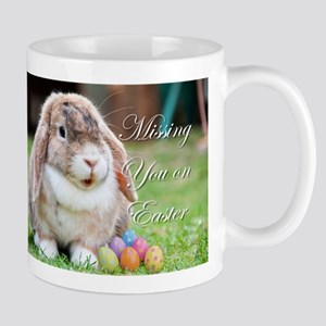 Missing you on Easter Bunny Mugs