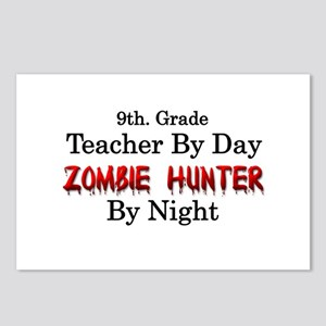 9th. Grade Teacher/Zombie Postcards (Package of 8)