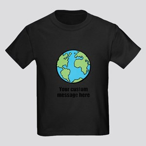 Make your own custom earth message T-Shirt