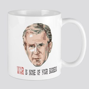 BUSH WAR Coffee Mug