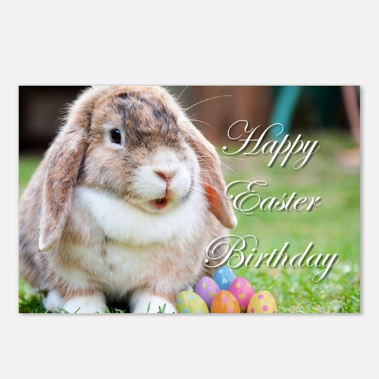 Happy Easter Birthday Bunny Postcards (Package of