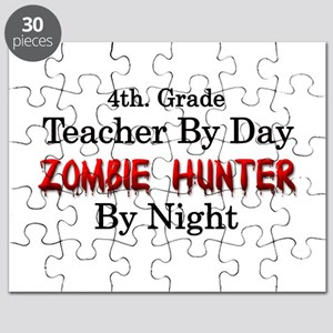 4th. Grade Teacher/Zombie Hunter Puzzle