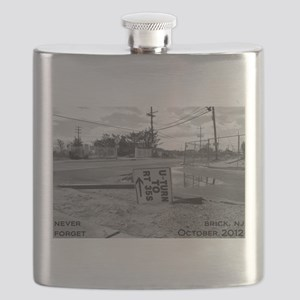 Never Forget Brick Rte 35 Flask