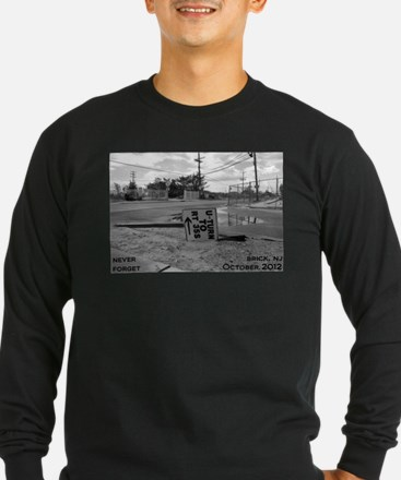 Never Forget Brick Rte 35 Long Sleeve T-Shirt