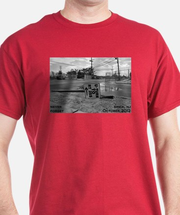 Never Forget Brick Rte 35 T-Shirt