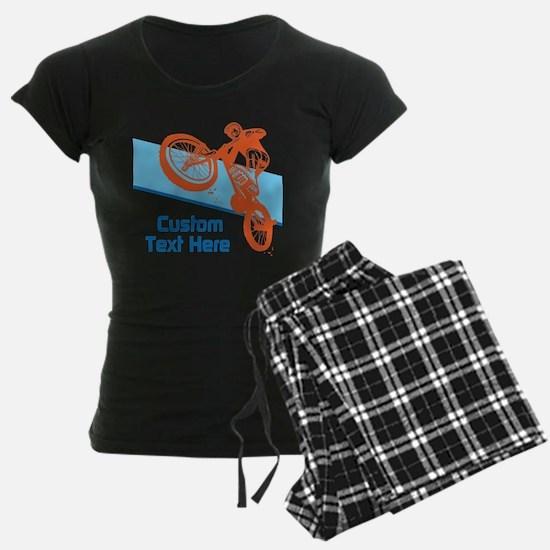 Custom Motocross Bike Design Pajamas