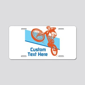 Custom Motocross Bike Design Aluminum License Plat