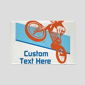 Custom Motocross Bike Design Magnets