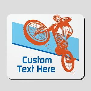 Custom Motocross Bike Design Mousepad
