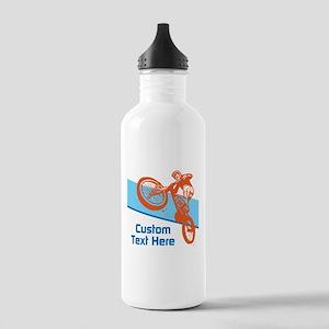 Custom Motocross Bike Design Water Bottle