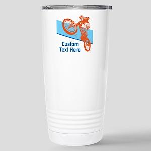 Custom Motocross Bike Design Travel Mug