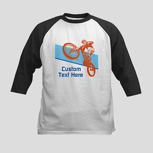 Custom Motocross Bike Design Baseball Jersey