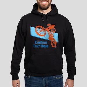 Custom Motocross Bike Design Hoodie