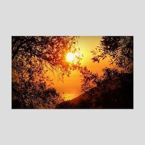 Wonderful Sunset 35x21 Wall Decal