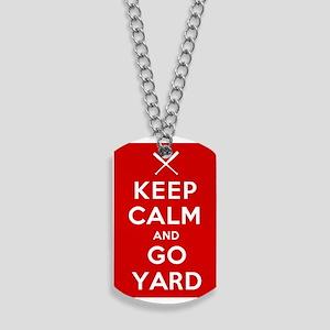 Keep Calm, Go Yard Dog Tags