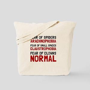 Fear Clowns Tote Bag