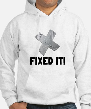 Fixed It Tape Hoodie