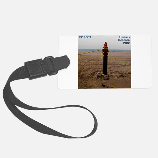 Never Forget Seaside Heights Hydrant Luggage Tag