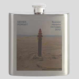 Never Forget Seaside Heights Hydrant Flask