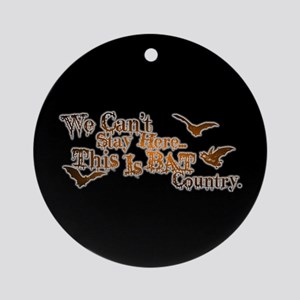 Bat Country Ornament (Round)