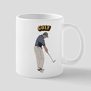 Golf With Text Mug