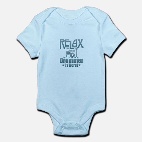 Relax The Drummer is Here Body Suit