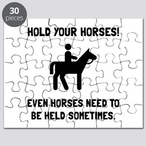 Hold Horses Puzzle