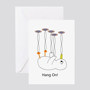 Hang On! Greeting Cards