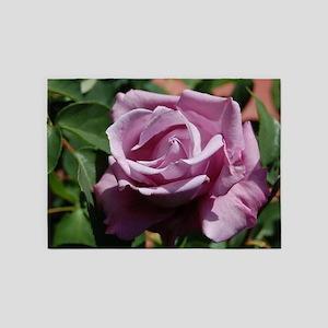 Purple Rose 5'x7'Area Rug